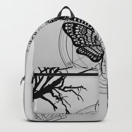 Witch Craft Grey Backpack