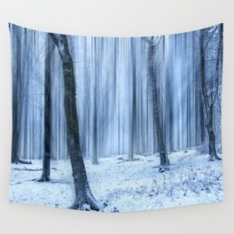 A Forest in Winter Wall Tapestry