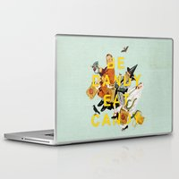 eat Laptop & iPad Skins featuring Be Dandy Eat Candy by Heather Landis