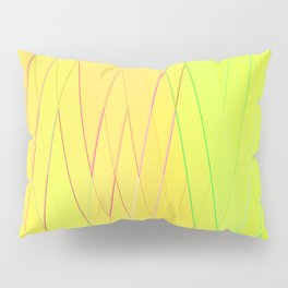 Re-Created Vertices No. 25 by Robert S. Lee Pillow Sham