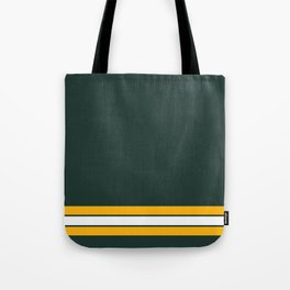 Green bay graphic Tote Bag