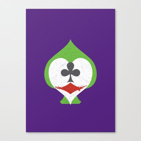The Joker's Wild Canvas Print