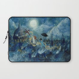 An Awfully Big Adventure - Peter Pan - Nursery Decor Laptop Sleeve