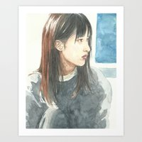 She (3 of 5) Art Print