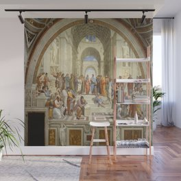 Raphael's The School of Athens Wall Mural
