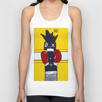 basquiat Tank Tops featuring Boxer Basquiat by TheArtGoon
