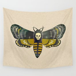 Death's head hawkmoth moth Wall Tapestry