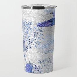 Chinoiserie blue Travel Mug