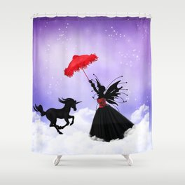 Dancing Fairy Shower Curtain