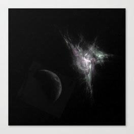 Fractal Space Canvas Print