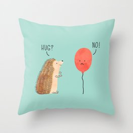 impossible love Throw Pillow