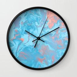 Color Pattern Design Wall Clock