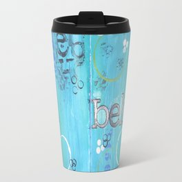 Believe Blue Travel Mug