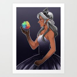 Princess Allura Art Print