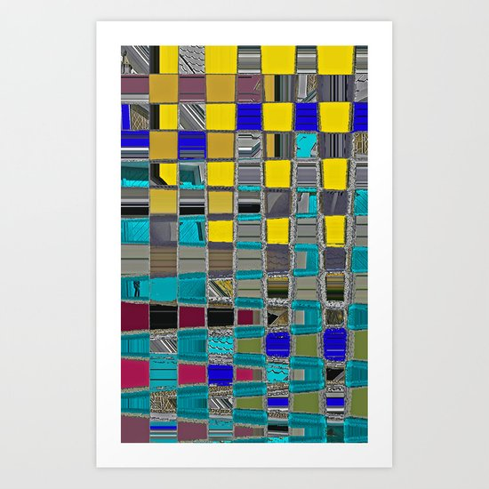 Abstract Sunday Art Print