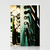 industrial Stationery Cards featuring Industrial by Nina Saunders