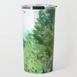 Mountain Forest Travel Mug