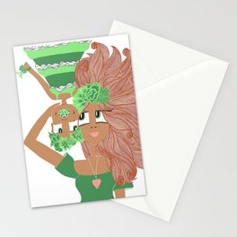 Flower mom, flower child Stationery Cards