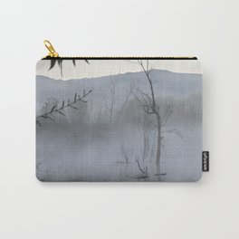 """""""Dream trees"""". Foggy sunrise at the lagoon Carry-All Pouch"""