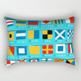 code flags Rectangular Pillow