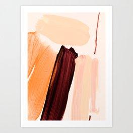 minimalist painting 04 Art Print