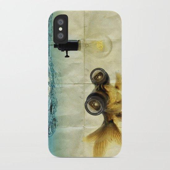 Fish Eyed Lens 03 iPhone Case