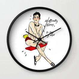 Xander Pin up Wall Clock