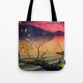 Hailing the Day's End at Towa Tote Bag