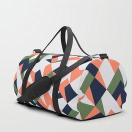 Geometric shapes retro Duffle Bag