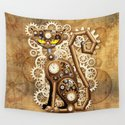 Steampunk Cat Vintage Style by bluedarkatlem
