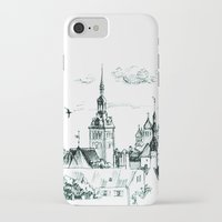 medieval iPhone & iPod Cases featuring Medieval landscape. by LaDa