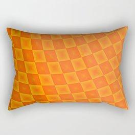 Pattern by squares 5 Rectangular Pillow