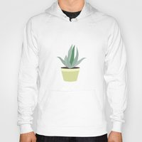 succulent Hoodies featuring Succulent V1 by 83 Oranges™