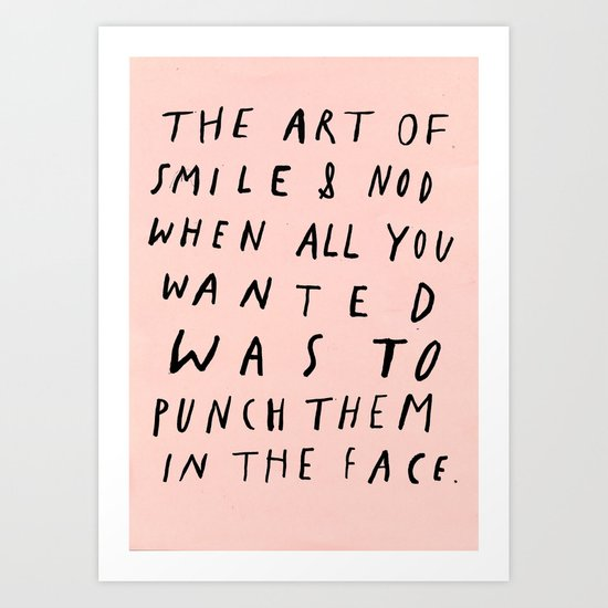 THE ART OF Art Print