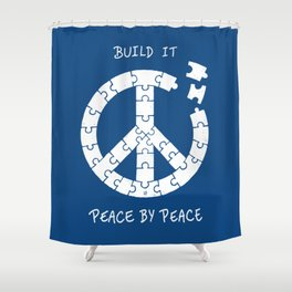 Peace By Peace Shower Curtain