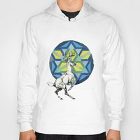 stag Hoodies featuring STAG by The Traveling Catburys