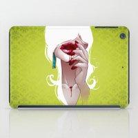vampire iPad Cases featuring Vampire by Kimball Gray