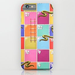 Snakes and Ladders iPhone Case