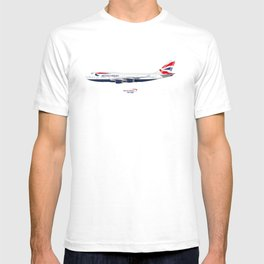 British Airways 747 T-shirt