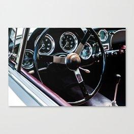 Behind The Wheel - Study 24 Canvas Print