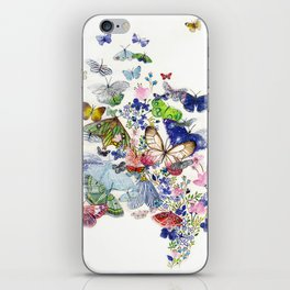 A flow of happiness iPhone Skin