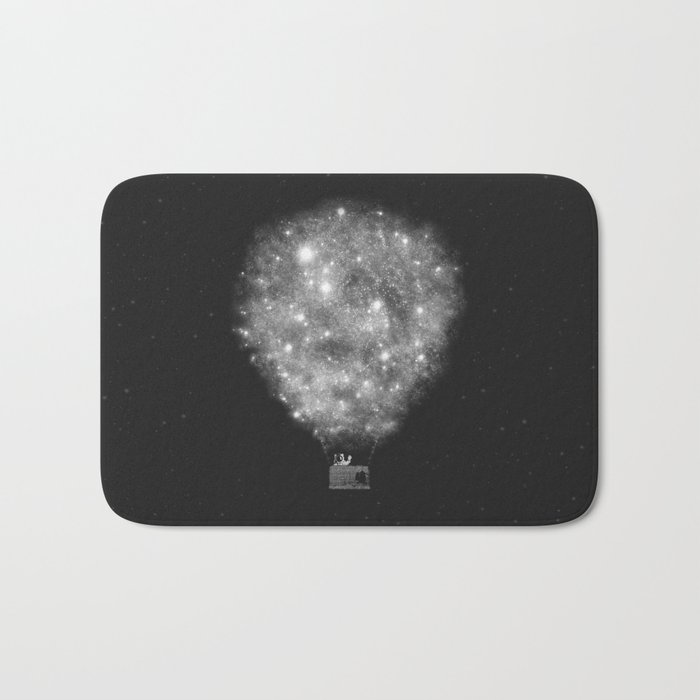 Supernova Sky Ride Bath Mat