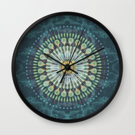 Rivets In Cognition Wall Clock
