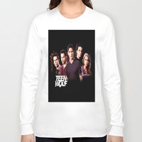teen wolf Long Sleeve T-shirts featuring teen wolf by kikabarros
