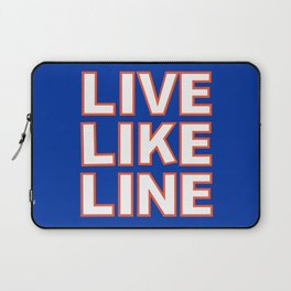 LIVE LIKE LINE Volleyball Laptop Sleeve