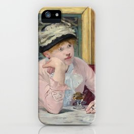 Manet,Fine Art,Beautiful,Wall Art,Framed,Poster,Canvas,Prints,Notebooks,Card,Gift,Gifts,Special,Rare iPhone Case