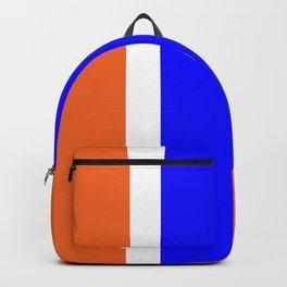 TEAM COLORS 10....ORANGE AND BLUE Backpack