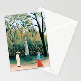 Henri Rousseau - The Luxembourg Gardens, Monument to Chopin Stationery Cards