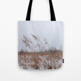 Winter Wheat Tote Bag