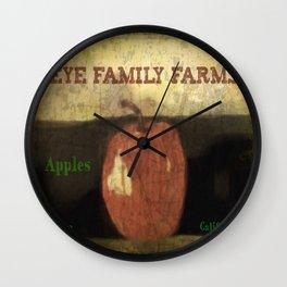 Eye Family Farms  Wall Clock